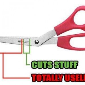 Scissor issues