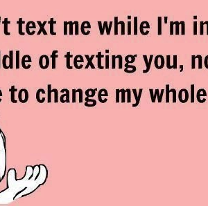 Texting issues