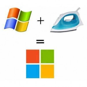 Concept of Windows Logo