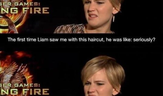 Liam saw me with this haircut