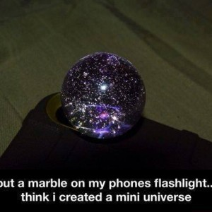 Marble Flashlight