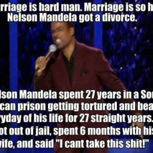 Marriage is hard man