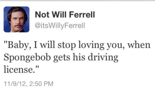 Not Will Ferrel
