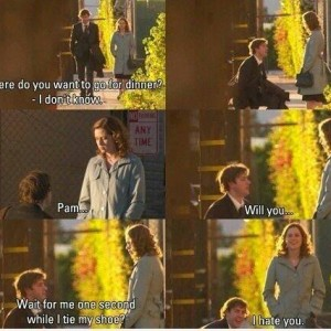 Pam, Will you.. Proposal