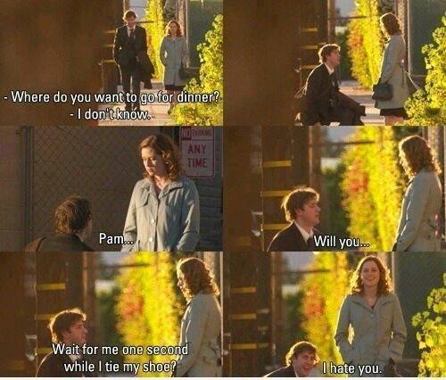 Funny Marriage Proposal Meme : Pam will you proposal funny pictures quotes memes