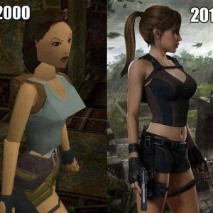 Tom Raider evolution