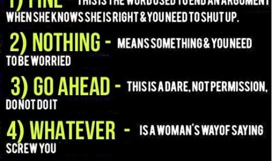 5 Deadly Terms By A Women