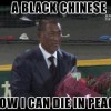 A black Chinese