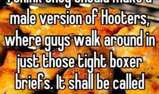 A Male Version of Hooters