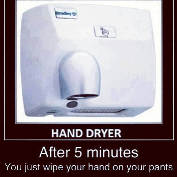 Bathroom Hand Dryer Funny Pictures Quotes Memes Funny