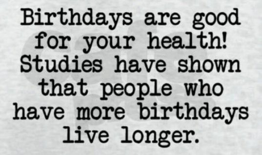 Birthdays!