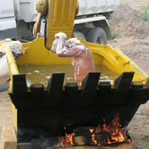 Construction Bathtub