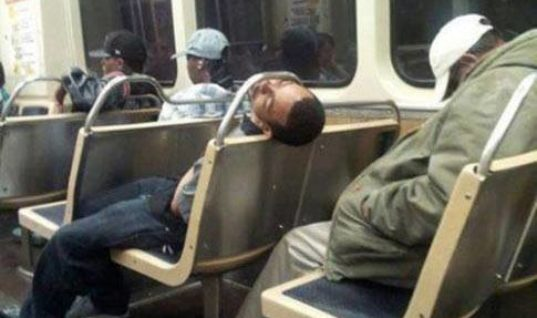 Dozing off in Public Transport