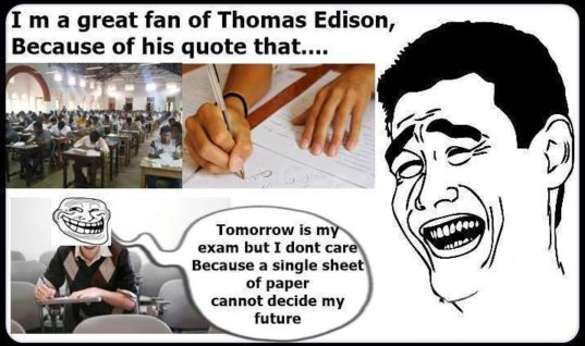 Fan of Thomas Edison