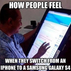How people feel on switching phones