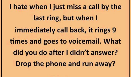 I miss a call by last ring