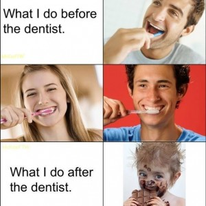 Seeing the dentist