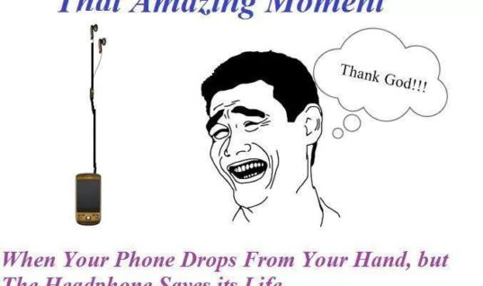 That amazing moment