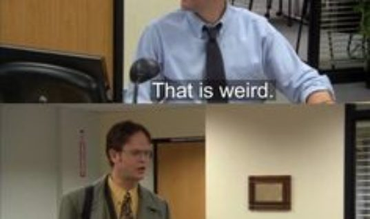 The Office is my favorite