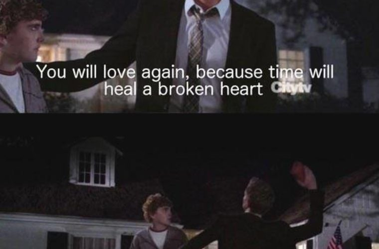 Funny Meme For Broken Heart : Time heals a broken heart funny pictures quotes memes funny