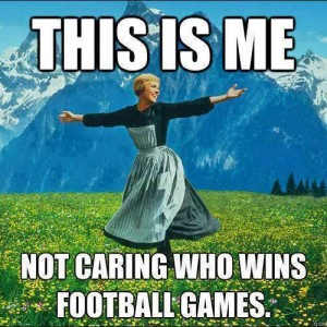 Who cares about Football?