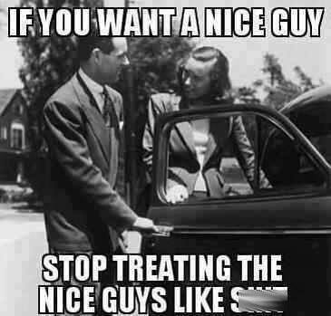how to stop being the nice guy and gain friends
