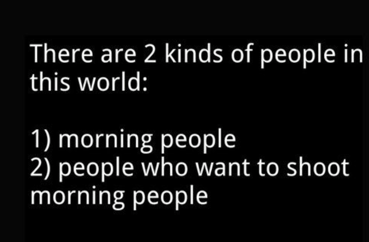 2 kinds of people