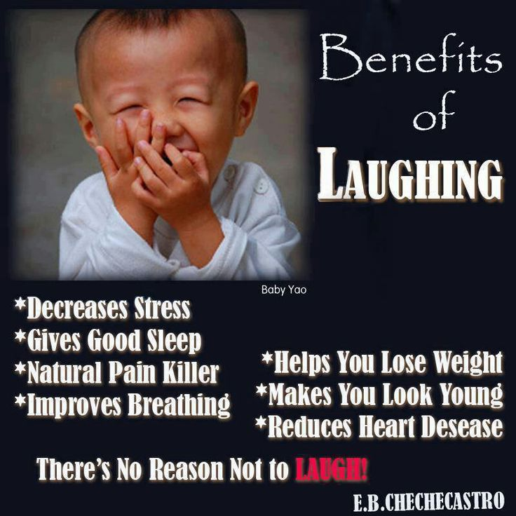 benefits of laughter Andrea: benefits of laughter is an evening of serious fun where we get together as a community, sit back and laugh while supporting a critical need - care and research for mental illness why would you encourage someone to attend or sponsor benefits of laughter.