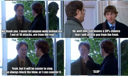 Classic Jim and Dwight