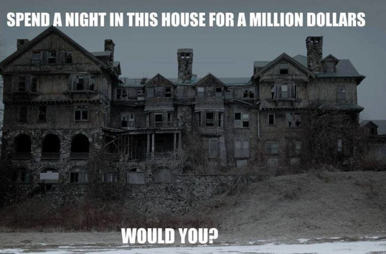 Dare You stay at haunted house