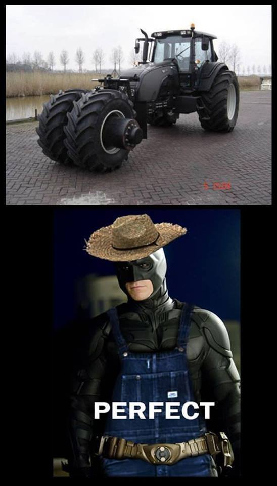 Farmer Batman Funny Pictures Quotes Memes Funny Images Funny
