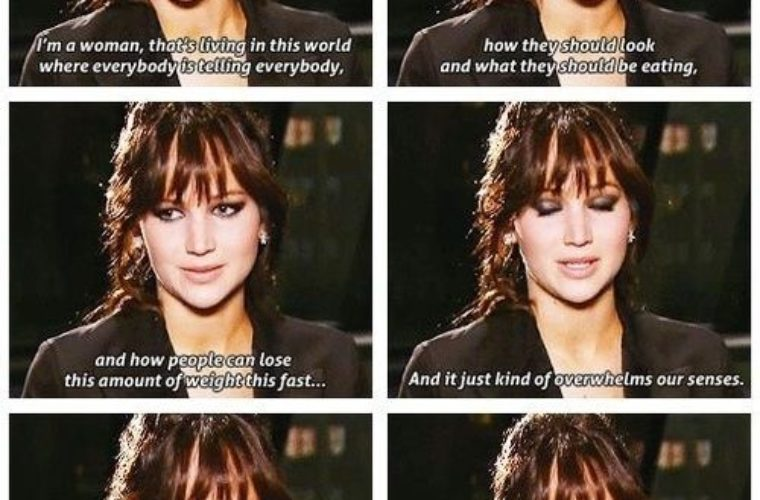 Funny Quote from Jen Lawrence