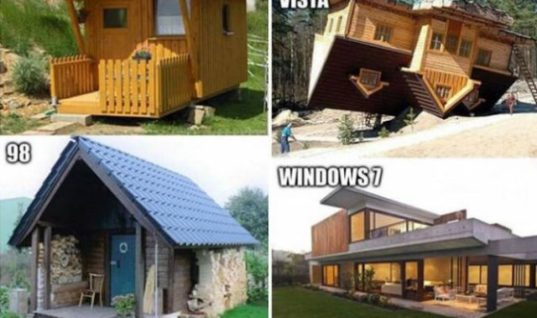 Funny Windows Evolution