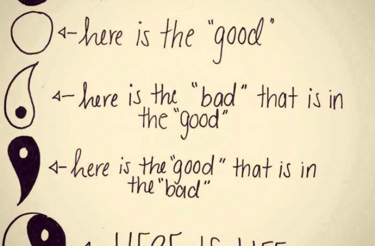 Here is the 'good' and 'bad'