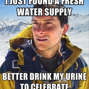 I just found a fresh water supply