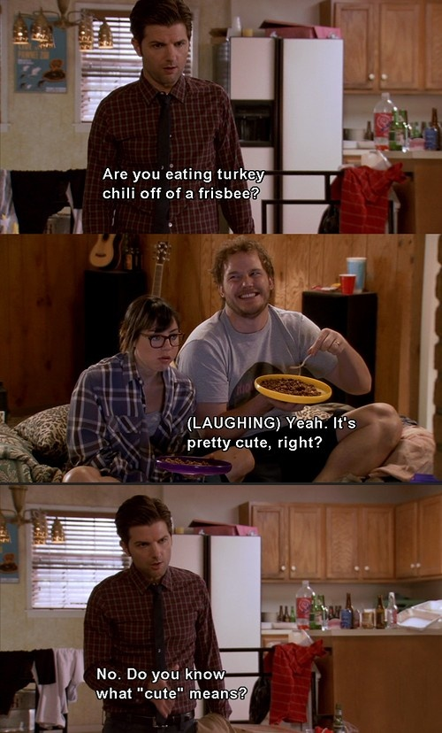 Parks And Rec Funny Pictures Quotes Memes