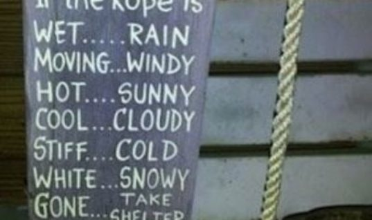 Redneck Weather Rope