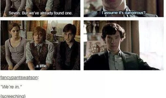 Sherlock and Harry Potter
