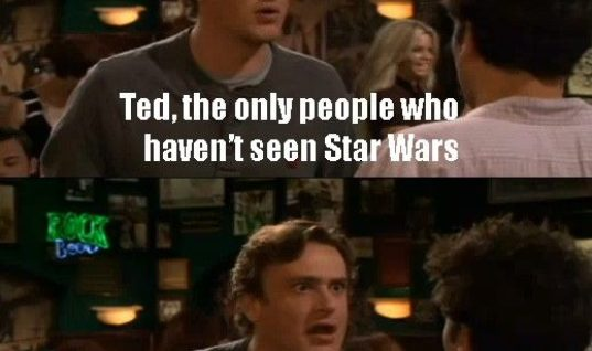 Shes never seen Star Wars