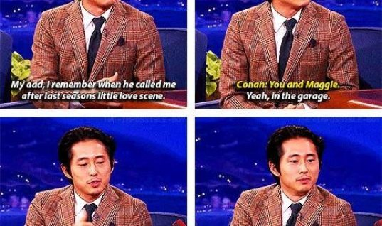 Steven Yeun is a man now