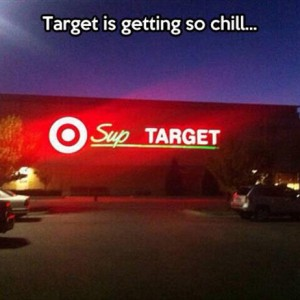 Target is chill