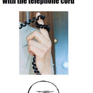Telephone Curly Cords