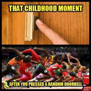 That childhood moment