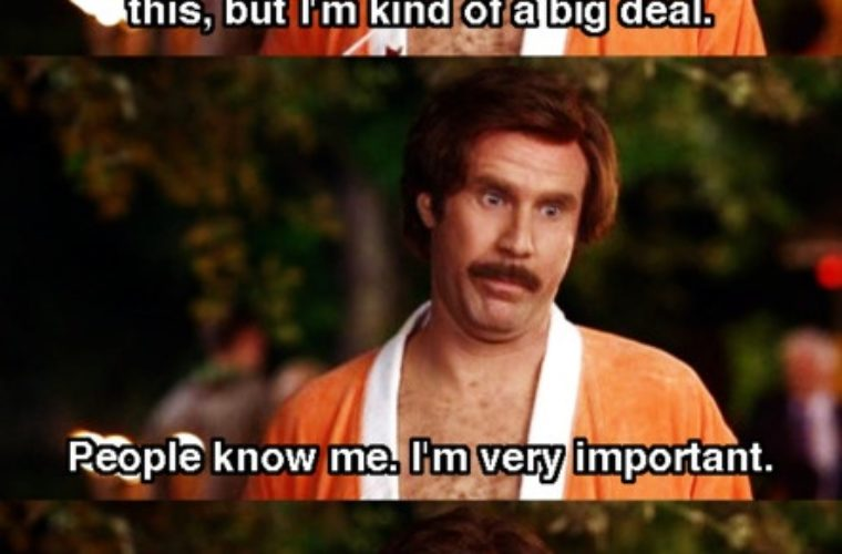 Funny Ron Burgundy Meme : I ain t even mad know your meme