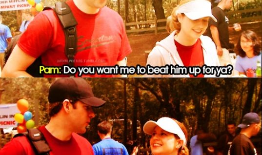 The brilliance of Jim and Pam
