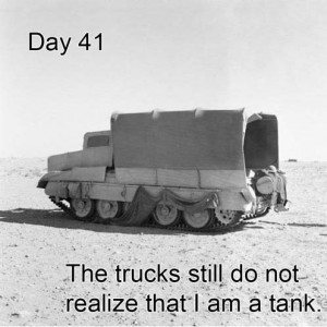 Truck camouflage