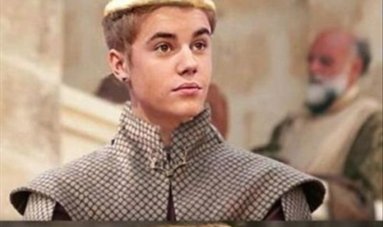Justin Beiber is king