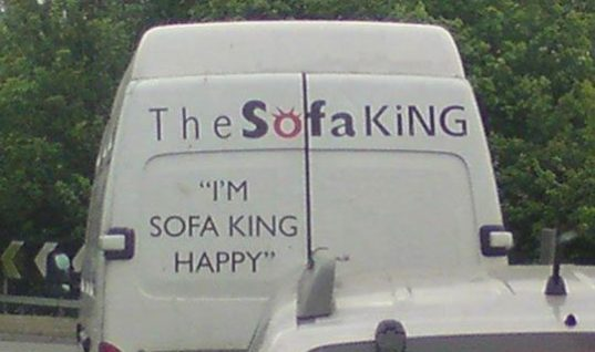 say it slowly Sofa King Happy LOLZ