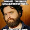 Challenges for kids