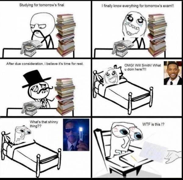 Day Before Final Exam Funny Pictures Quotes Memes